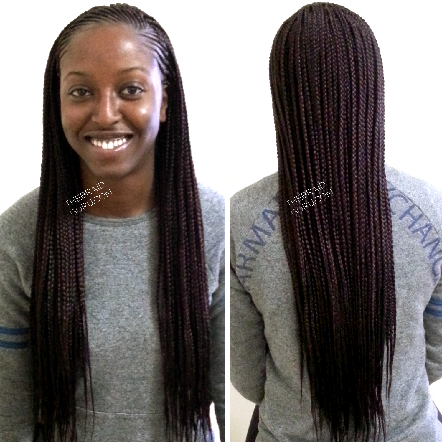 To acquire Braids Individual in a ponytail picture trends