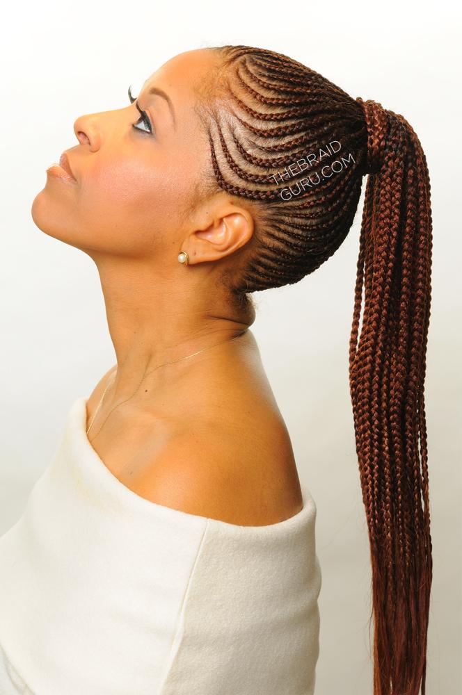 Incredible Braid Gallery The Braid Guru Hairstyles For Women Draintrainus
