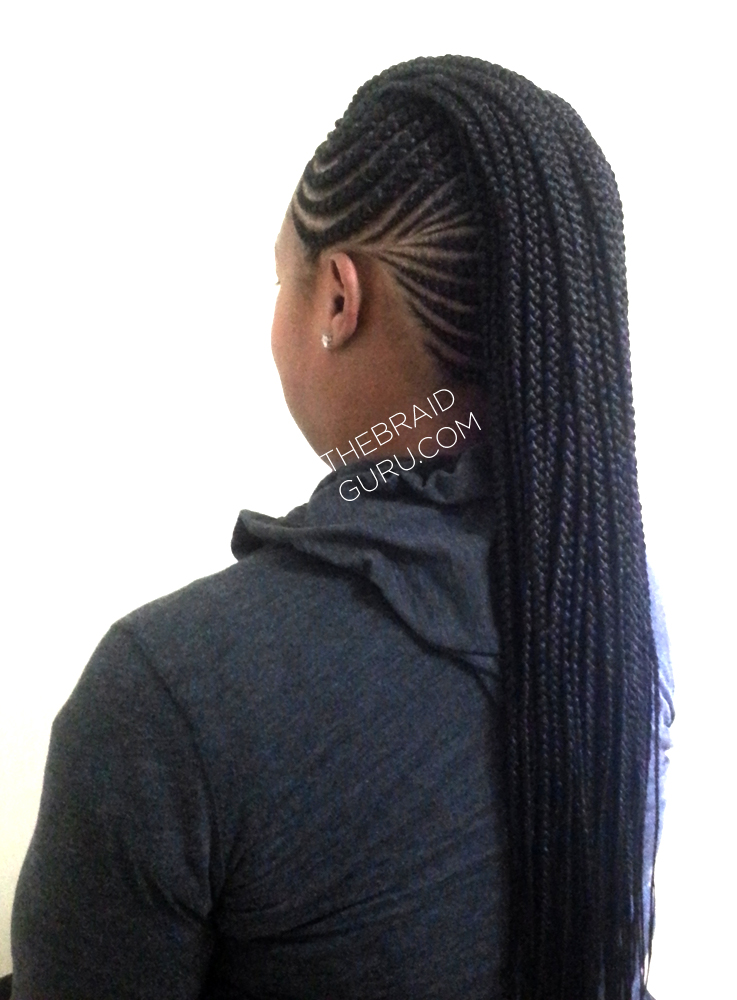 ... Cornrow Hairstyles With Kinky Hair. on cornrow ponytail hairstyles