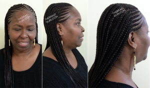 unusual hairstyles : Cornrow 2 Layers Hairstyles apexwallpapers.com